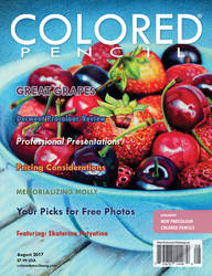 COLORED PENCIL Magazine - August 2017 Issue