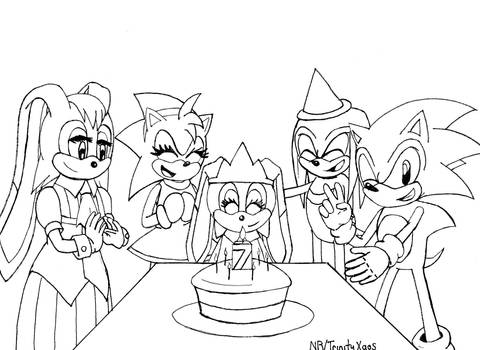 Cream's Seventh Birthday Idea