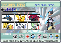 My Trainer Card by LeopardSixteen