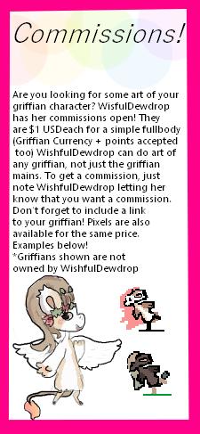 Commissions! by WishfulDewdrop
