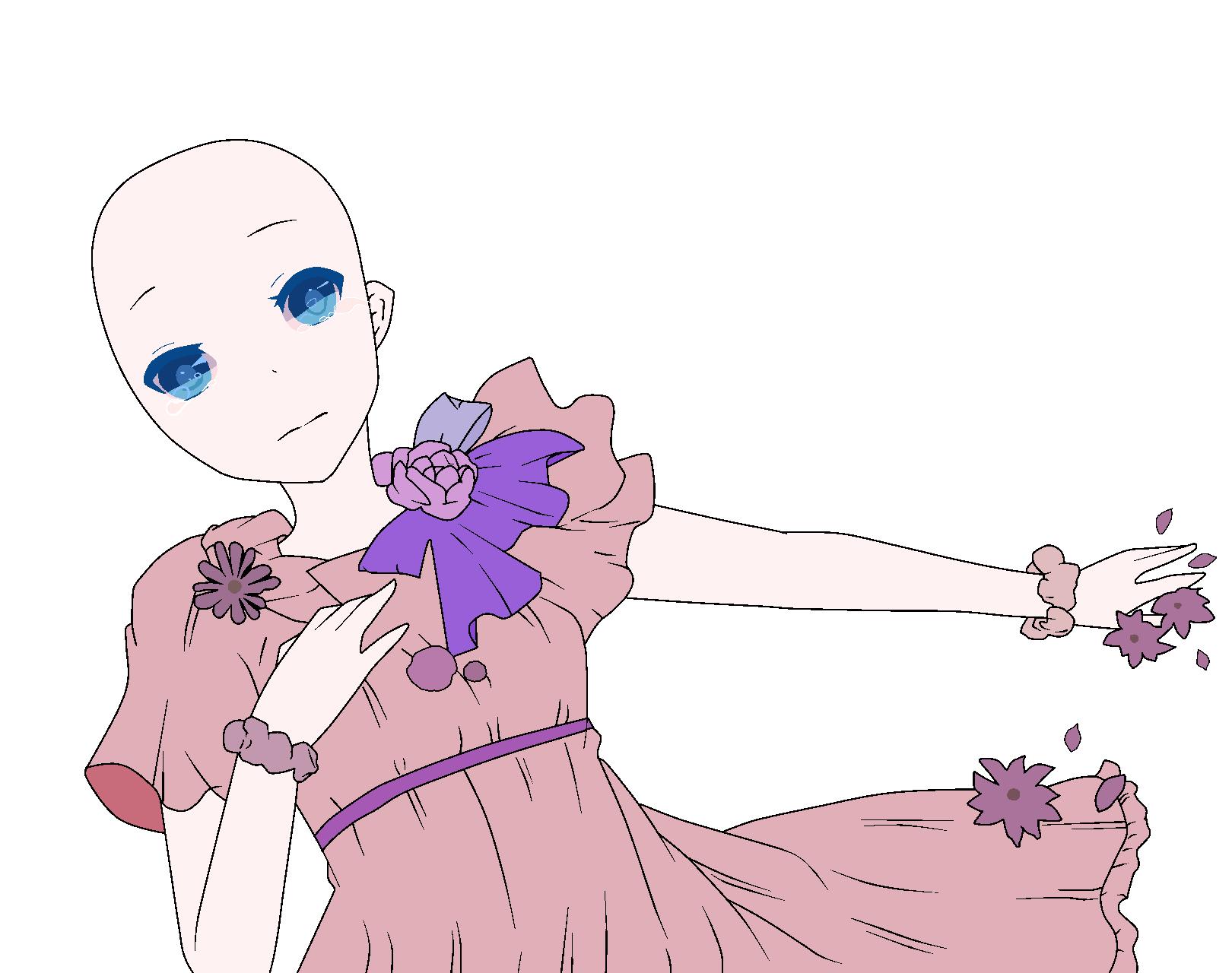 Base32 By CatherineCurse Sad Anime Girl
