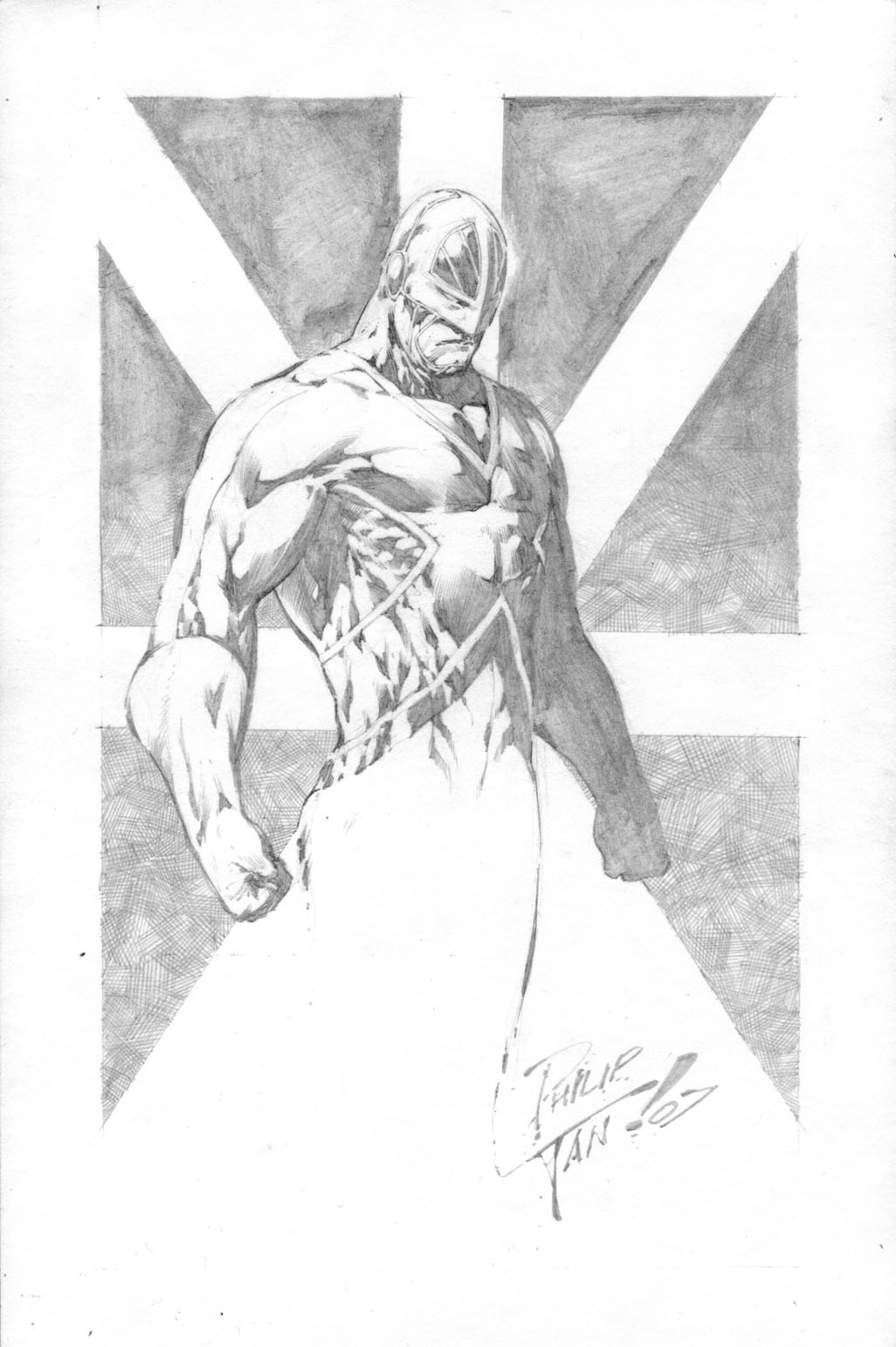 Capt. Britain sketch... by butones