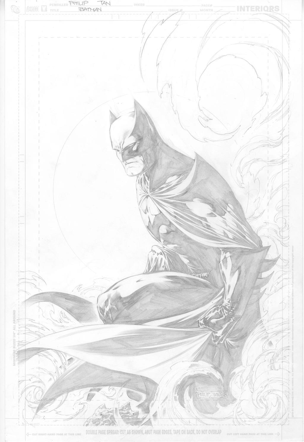Batman print by butones