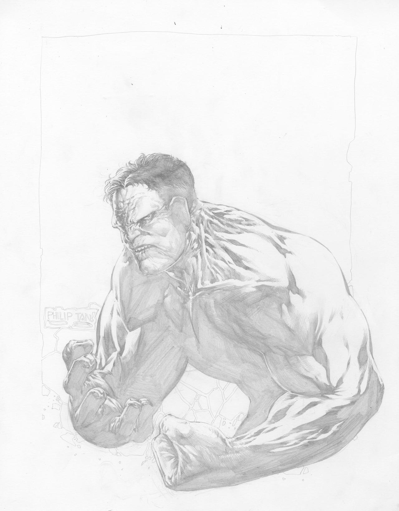 Hulk ex-charity art... by butones