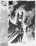 Batman sketch from SDCC 08