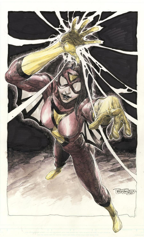 Spiderwoman by butones