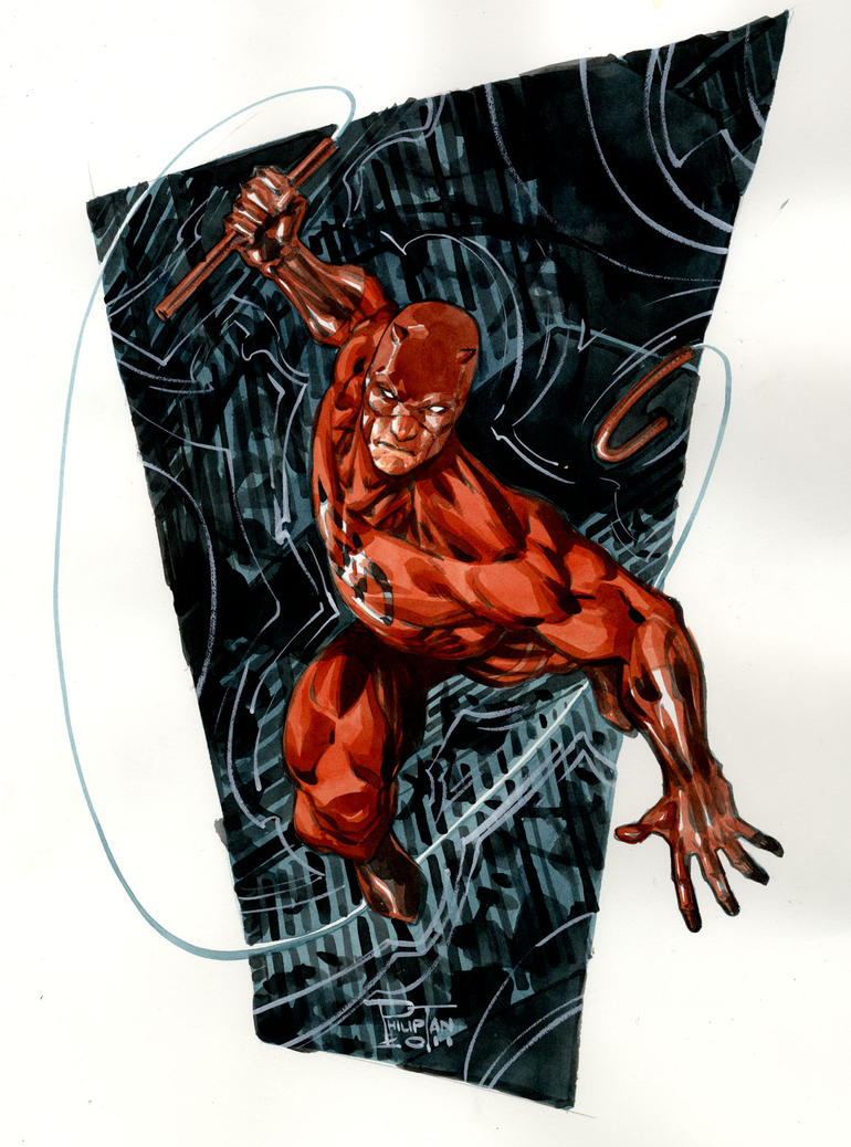 Daredevil by butones