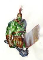 Planet Hulk by butones