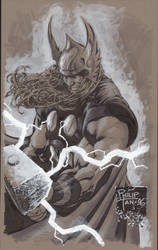 Thor Sketch by butones