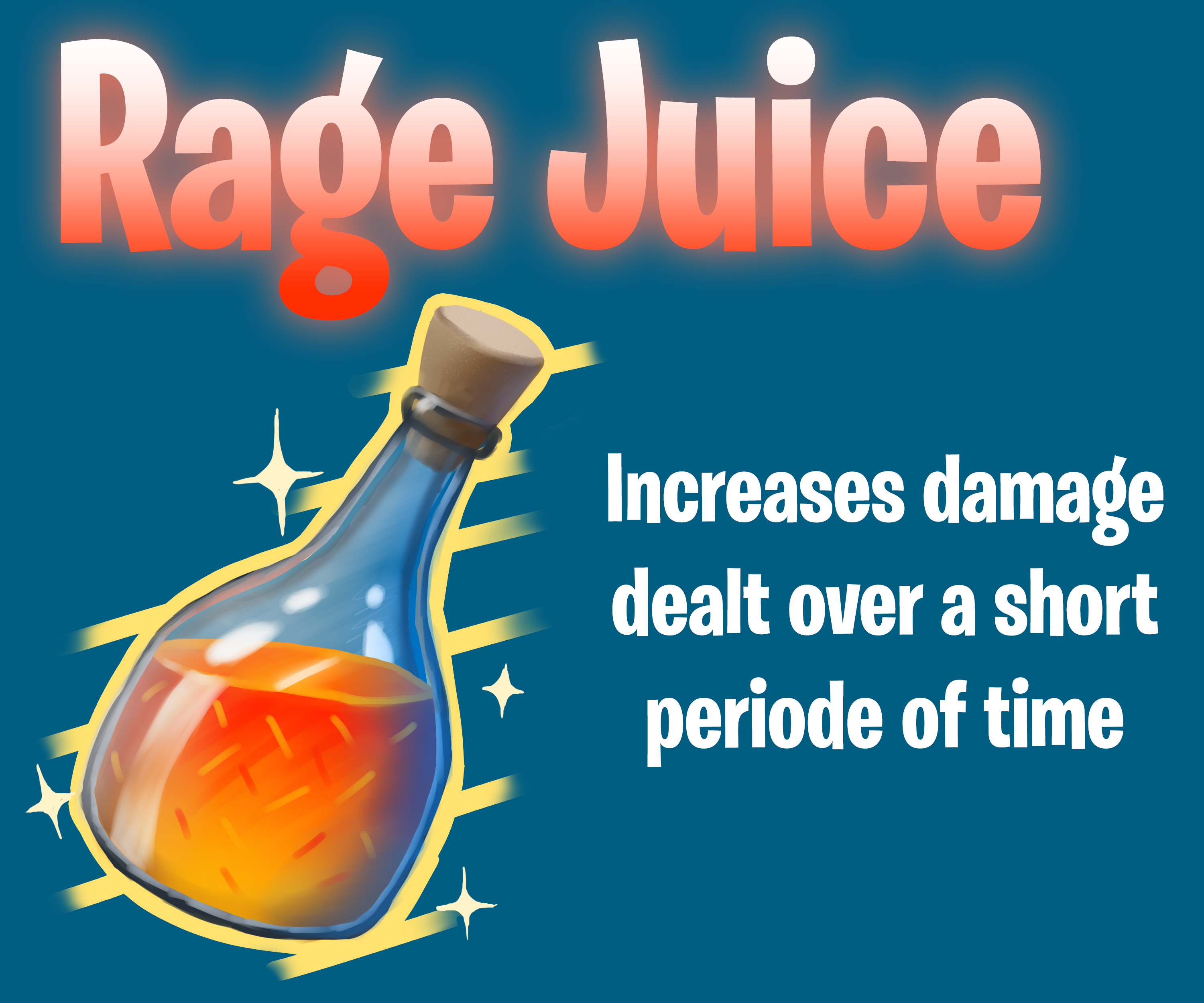 Rage Juice - Inspired by Fortnite by RoboticTea
