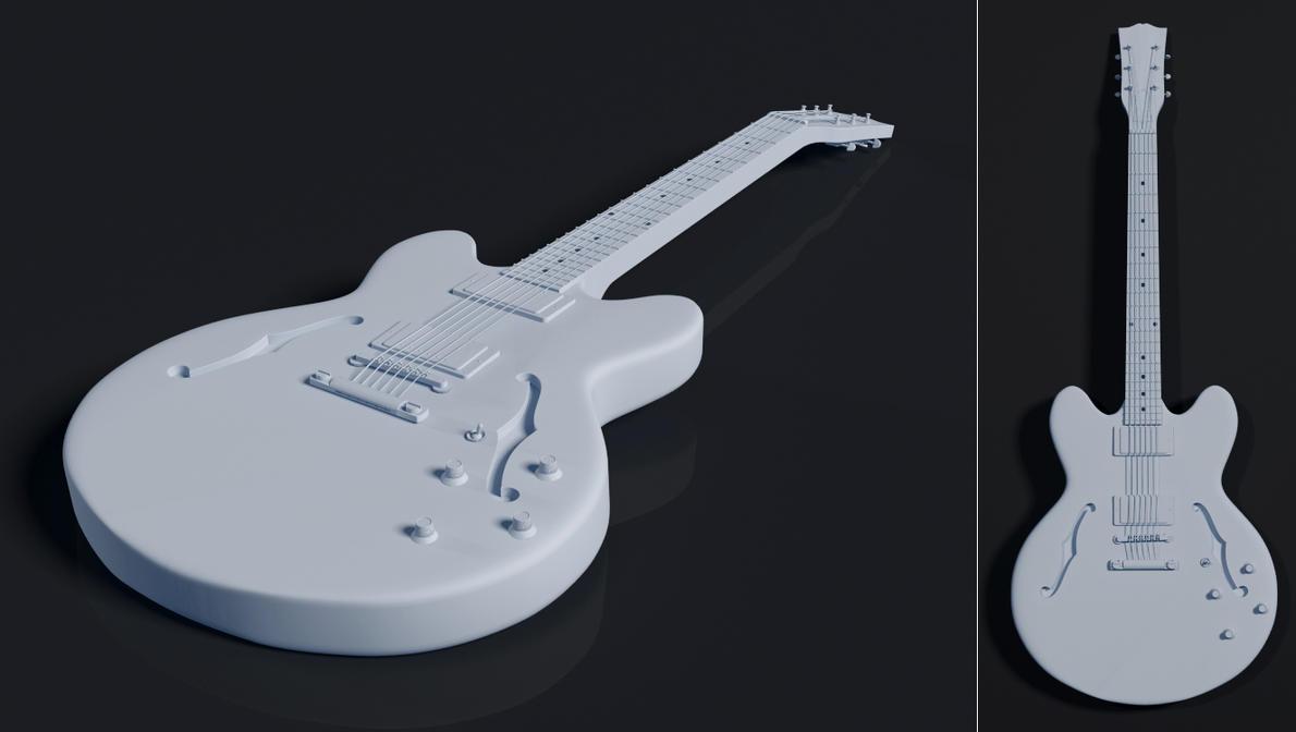 Gibson ES 335 By Sedrann