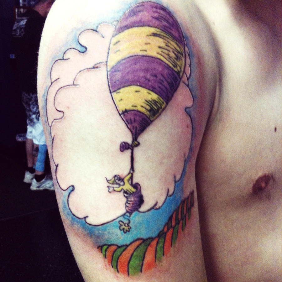 Oh The Places You Ll Go Tattoo By Bettyboopeyes On Deviantart