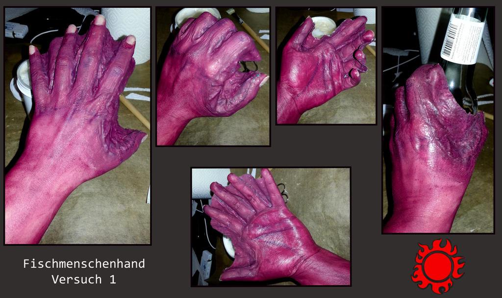 Fischmenschenhand by Dolor123