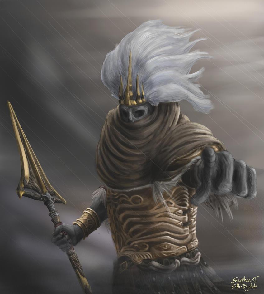 Nameless king by artbyhalo on deviantart