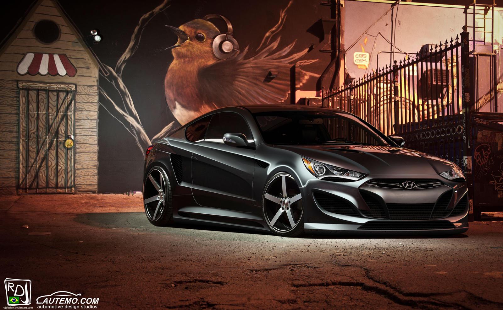 Genesis Coupe - Autemo BPC Round 1 by RDJDesign