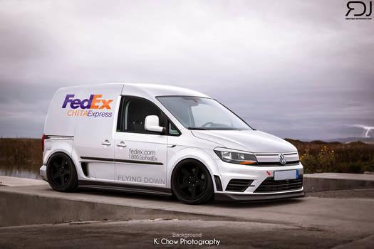 Volkswagen Caddy FEDEX Edition