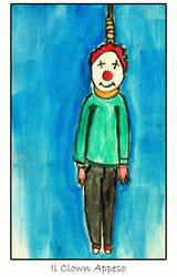 hanged clown