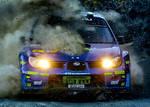 Subaru Impreza WRC In Little HDR