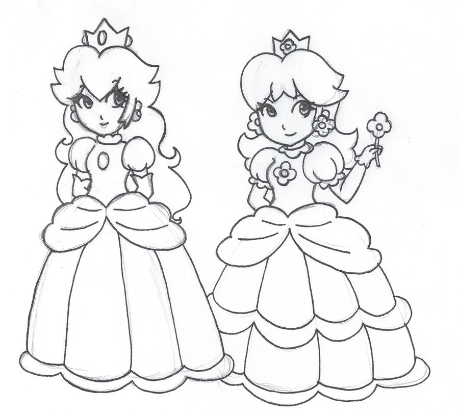 Princess rosalina coloring pages
