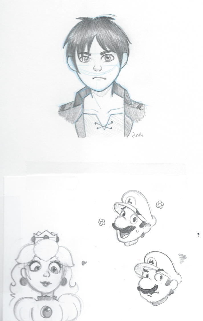 Sketchbook Scans 2 by VioVi