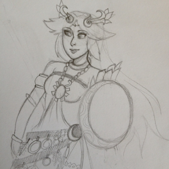 Lady Palutena by VioVi