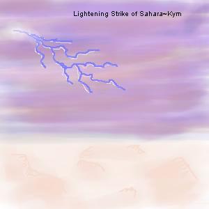 Lightening Strike of Sahara by hotti-furc