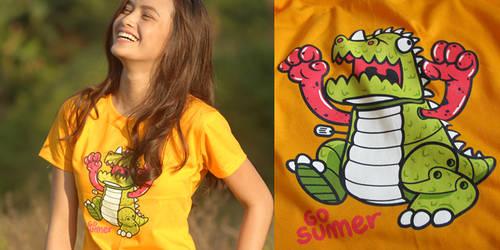 Go Go Dino by chibogfud