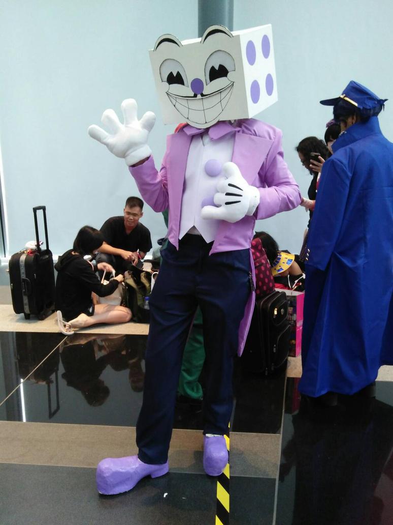 how to get king kai costume