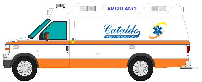 Cataldo Ambulance Service Ambulance by 1stResponseEmergency