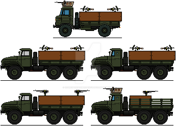 RSDF Guntrucks by 1stResponseEmergency