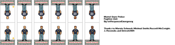Mattel State Police Fugitive Unit by 1stResponseEmergency