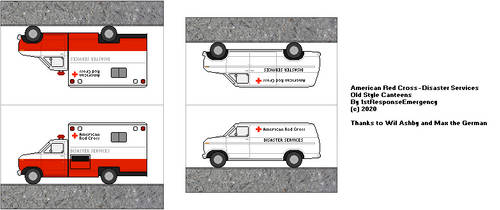 American Red Cross Old Style Canteens by 1stResponseEmergency