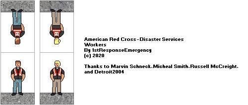 American Red Cross Workers by 1stResponseEmergency