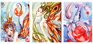 ACEO Faeries