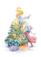 Happy Holidays :)! by AniaMohrbacher