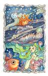 Ocean and Heavenly Bodies