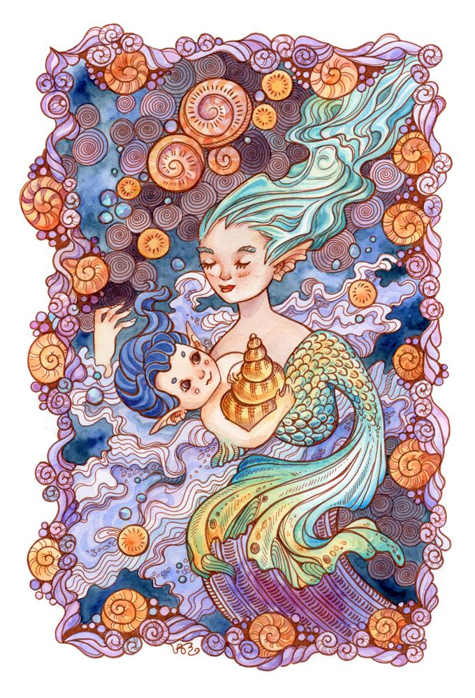 Mermaid's Child by AniaMohrbacher