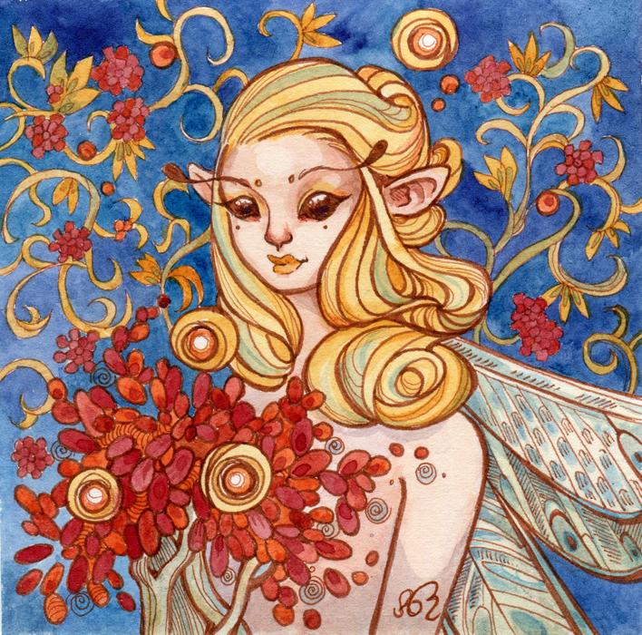 Golden Fairy by AniaMohrbacher