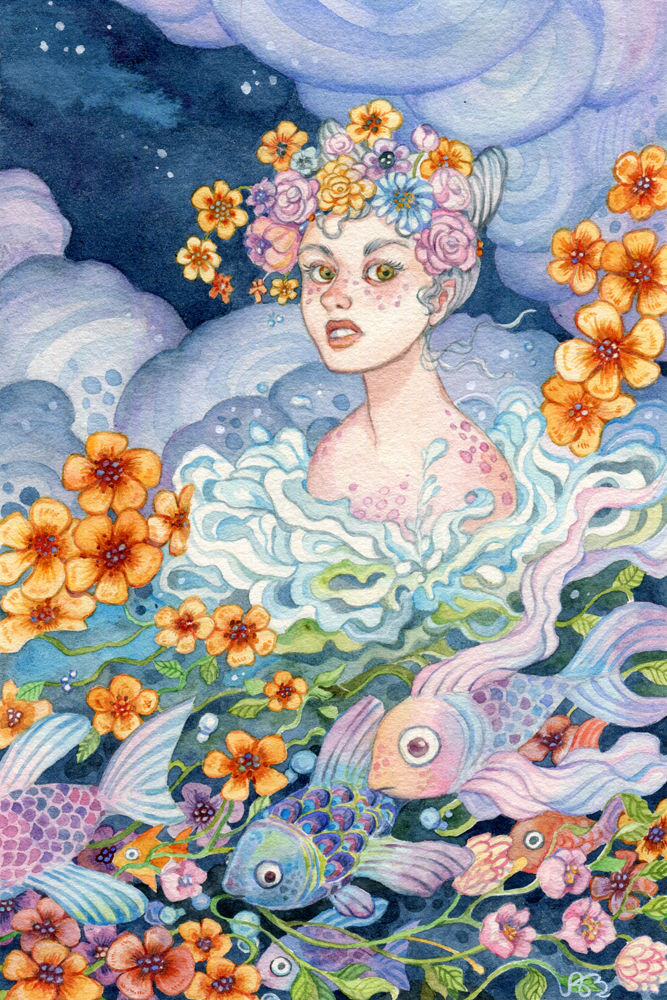 Born of Water and Bloom by AniaMohrbacher