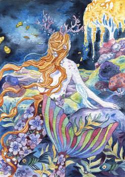 Mermaid of the Glowing Waters