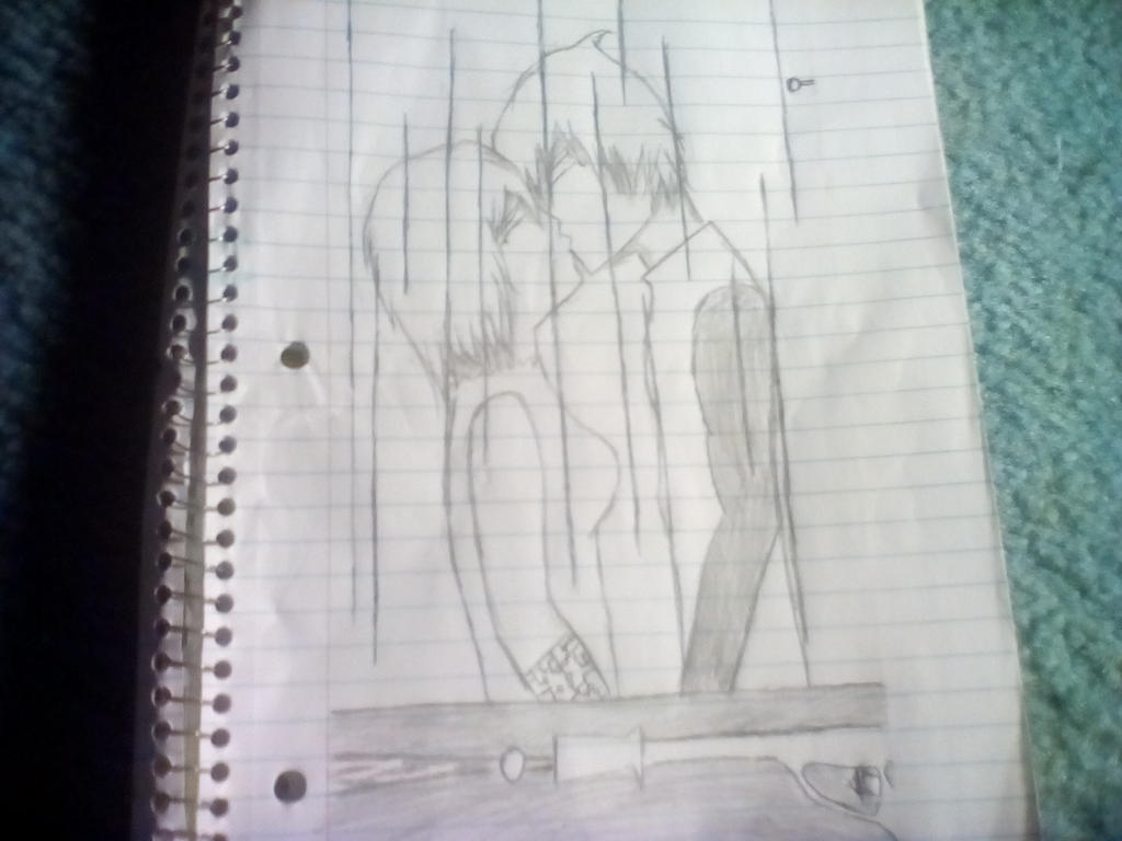 First romance scene by sk8erkiller900