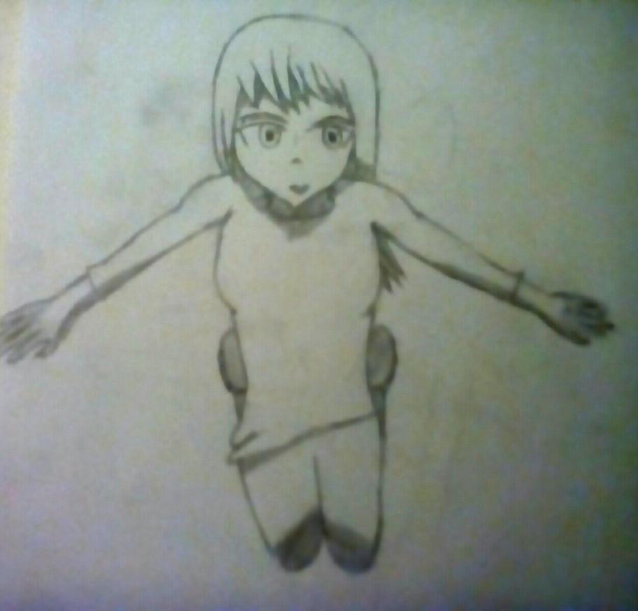 Flying girl by sk8erkiller900