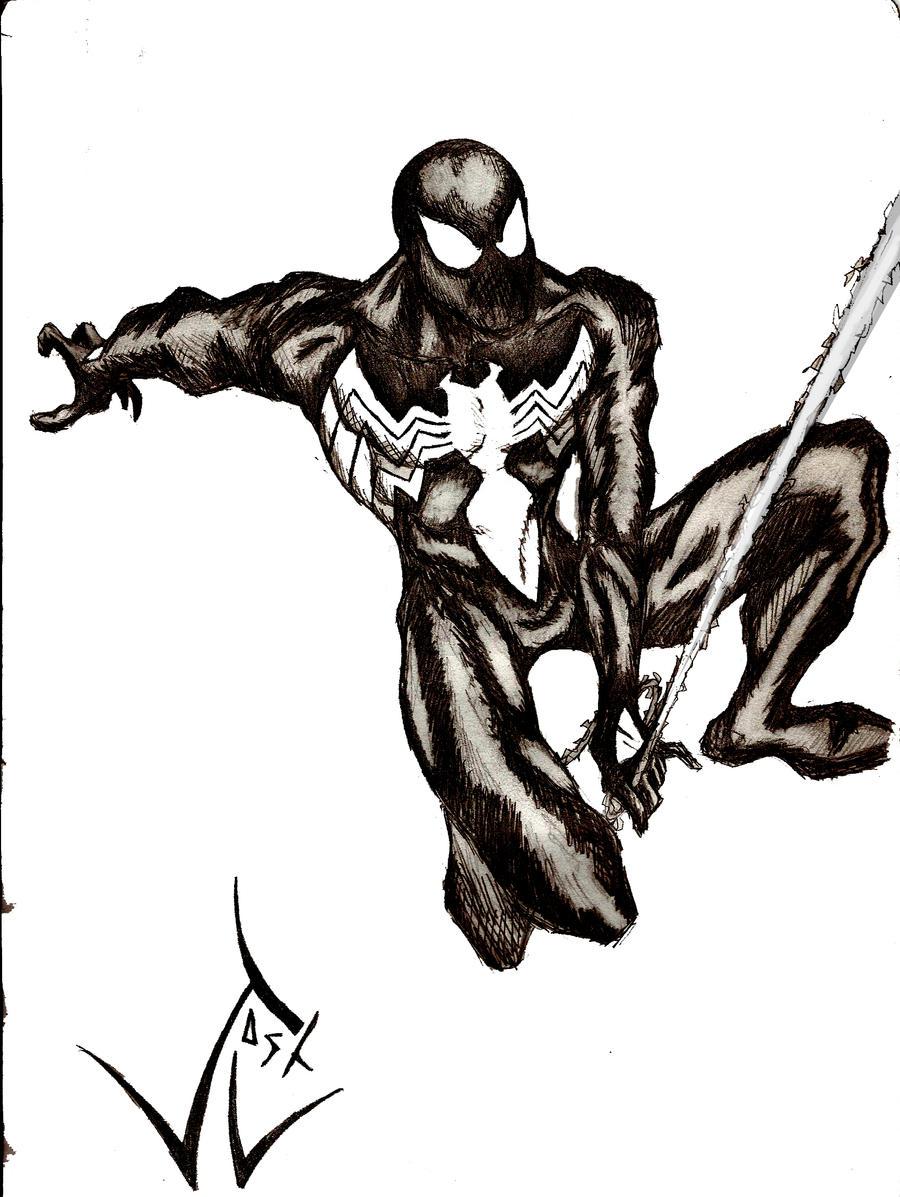 spider man symbiote suit by joshluna on deviantart