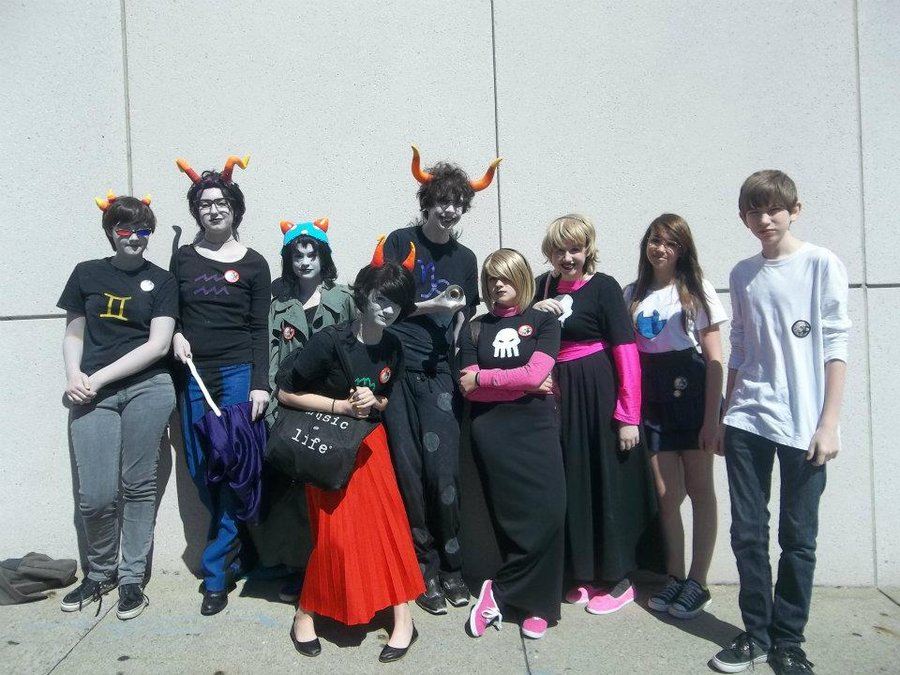 Homestuck- mtac 2012 by madcrazeemmf