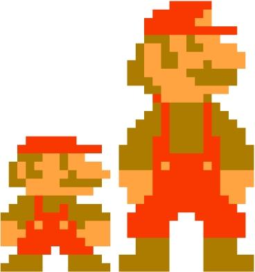 Super Mario Oil Painting