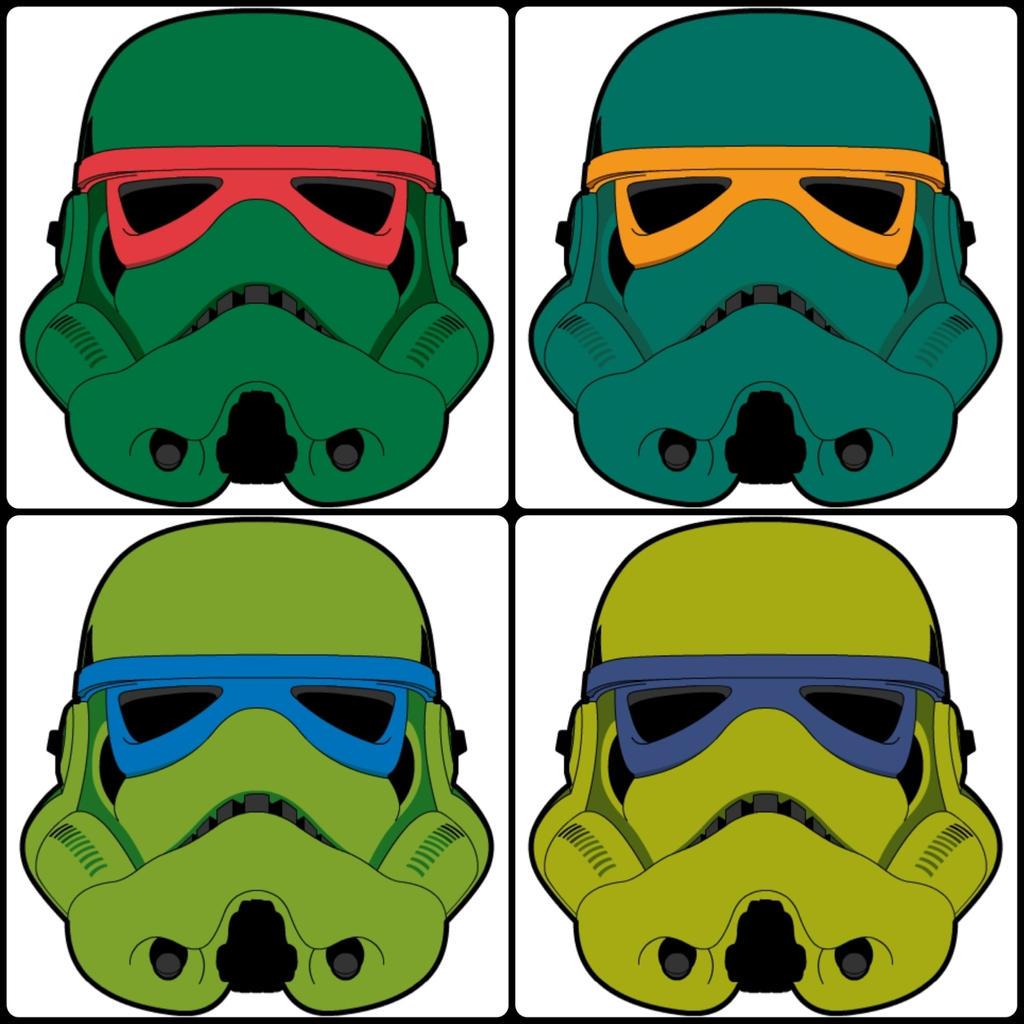 Teenage Mutant Ninja Troopers by bizklimkit