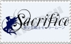 Sacrifice stamp by granger159