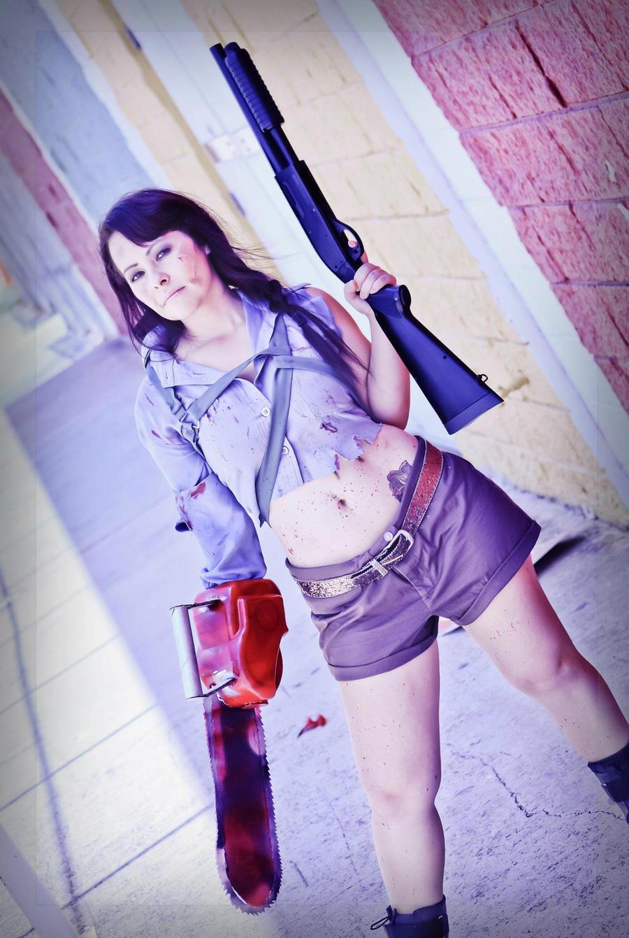 Ash, Female version by Perez2407