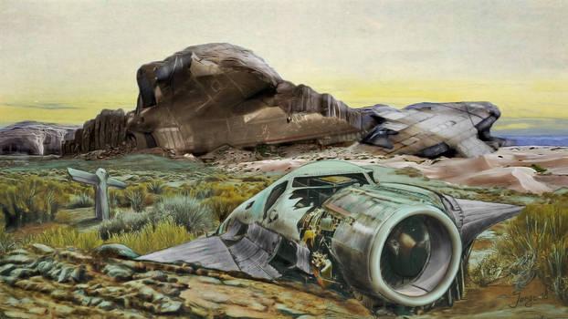 Stranded On Alien Planet