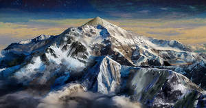 Mountains on alien planet II